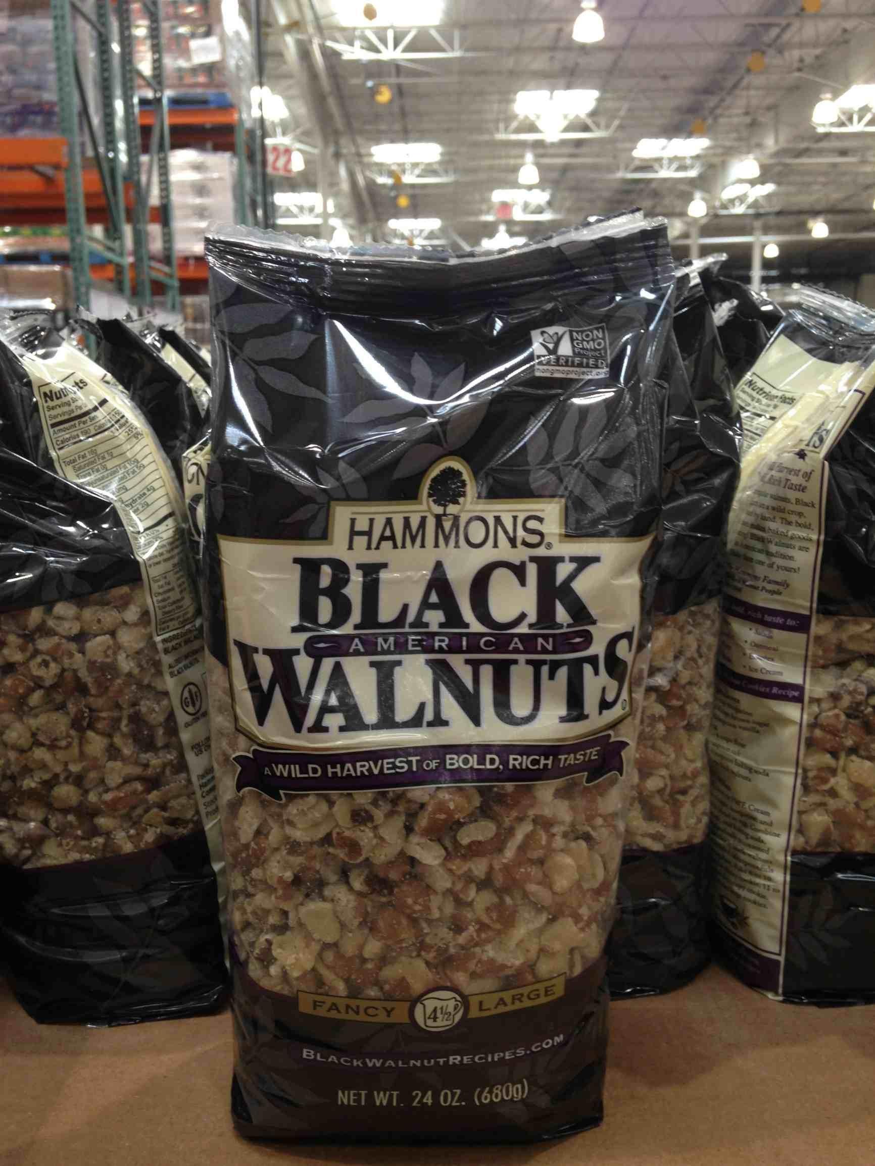 Hammons black walnuts 24 oz (pack of 6)