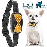 Good Boy humanes Anti-Bell Halsband für Kleine Hunde – Vibrierendes Anti-Bell Gerät 2018 Design und Mikrochip Upgrade für eine bessere Bell Erkennung – Wiederaufladbar & wasserdicht