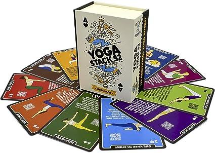 Stack 52 Yoga tarjetas de ejercicio: Amazon.es: Deportes y ...