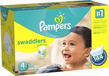 Pampers Swaddlers Diapers Pack (144 Ct.)