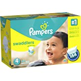 Pampers Swaddlers Diapers Size 4 (22–37 lb), 144 Count