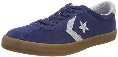Converse Unisex-Kinder Breakpoint OX Navy/Wolf Grey/Gum Fitnessschuhe, Blau (Navy/Wolf Grey/Gum 426), 34 EU