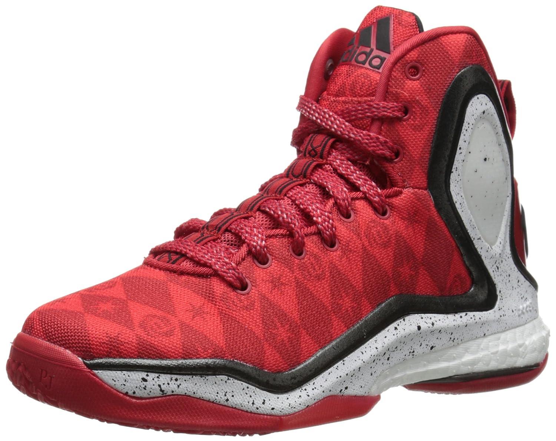 innovative design 9d769 e0b3a Amazon.com  adidas Performance D Rose 5 Boost J Kids Basketball Shoe (Big  Kid)  Basketball