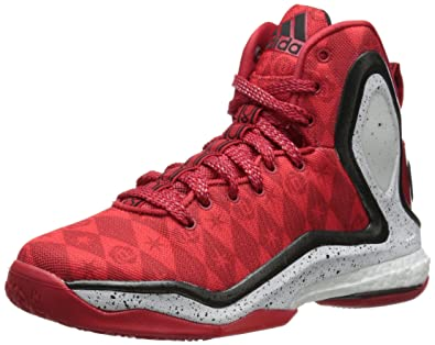 56c359b8385 adidas Performance D Rose 5 Boost J Kids  Basketball Shoe (Big Kid)