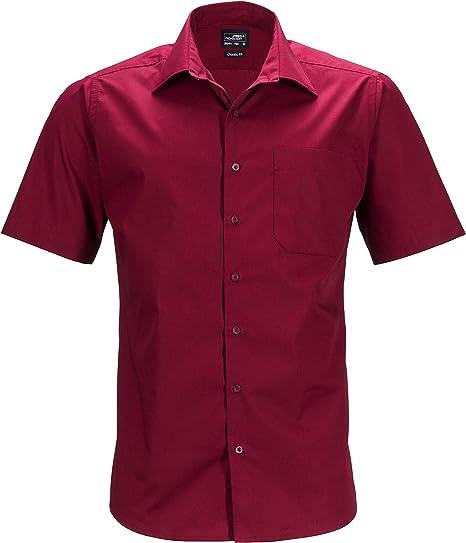 James and Nicholson Mens Shortsleeve Business Shirt