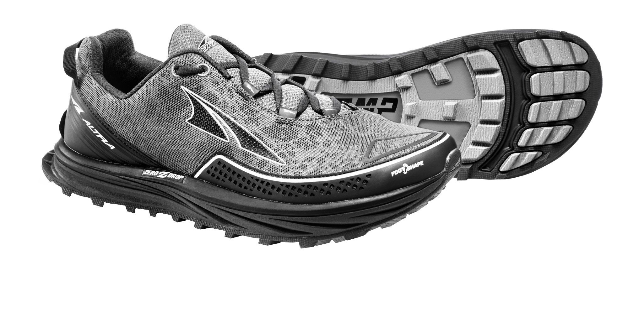 Altra AFM1757F Men's TIMP Trail Running Shoe, Gray - 10 D(M) US by Altra