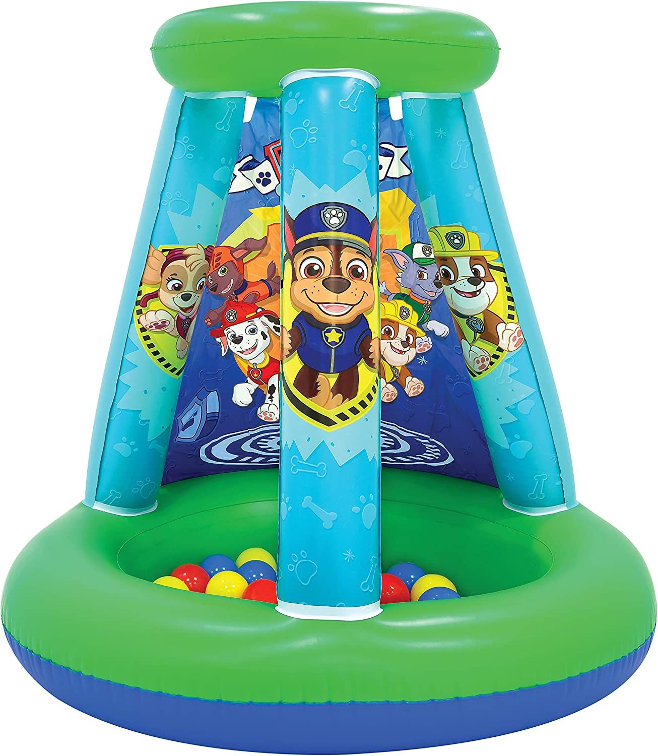 Amazon.com: Paw Patrol Pit 1 - Bola hinchable (incluye 15 ...