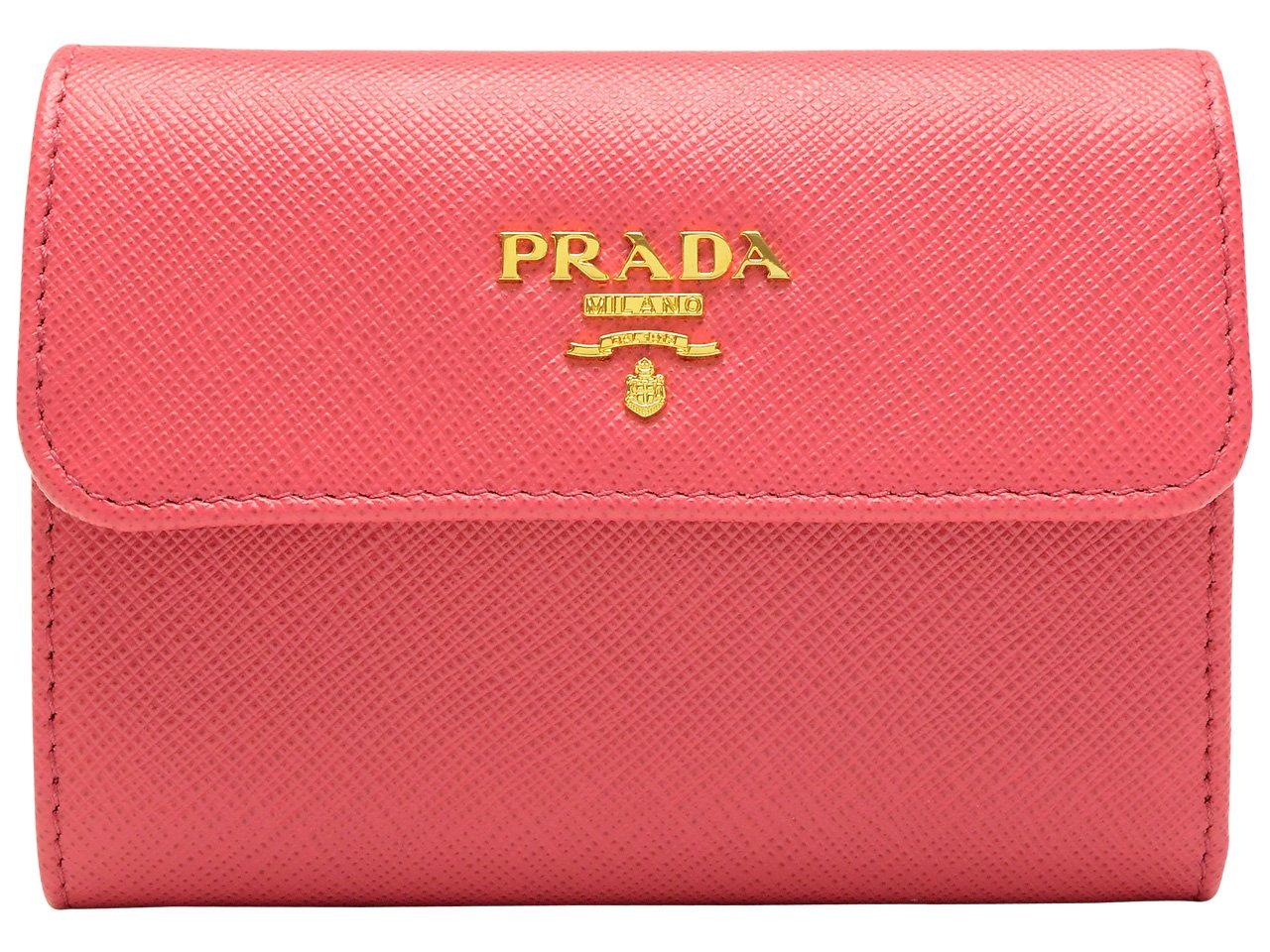 (プラダ) PRADA 財布 三つ折り レザー 1MH840 ブランド[並行輸入品] B01HCLGPJY ピオニア ピオニア