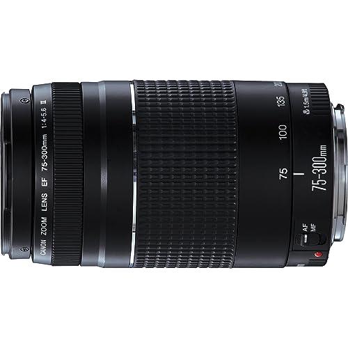 Canon Teleobiettivo Zoom, EF 75-300 mm f/4-5.6 III