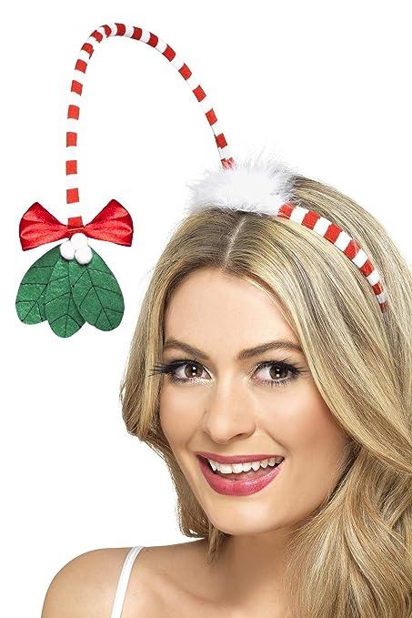 40027ebba0b0c Smiffys Mistletoe Kisses Headband  Smiffys  Amazon.co.uk  Toys   Games