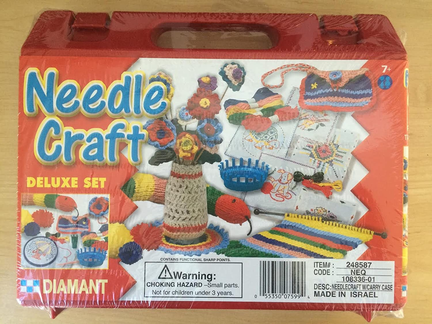 Amazoncom Needle Craft Deluxe Set By Diamant Kids Crochet Kit In