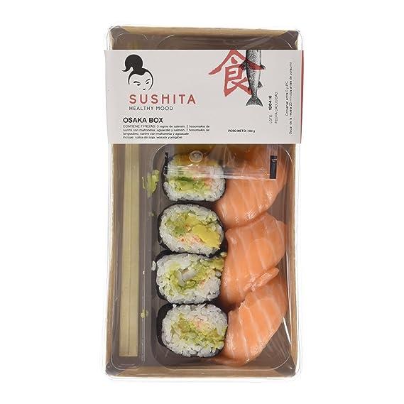 Sushita Osaka Box - Plato de pescado y marisco, 200 g