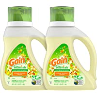 2-Count Gain Botanicals Plant Based Laundry Detergent, Orange Blossom Vanilla, 40 ounces