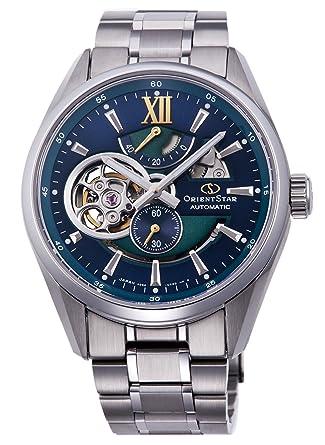 f3c55a990f [オリエントスター] ORIENT STAR モダンスケルトン モデル 機械式 腕時計 RK-DK0001L メンズ