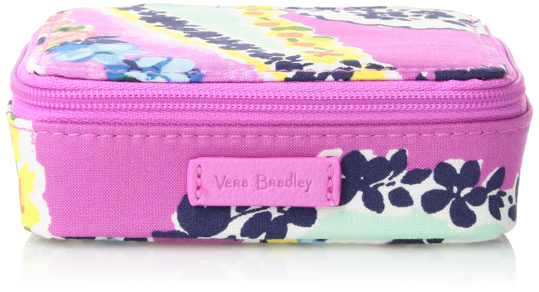 Vera Bradley Iconic Travel Pill Case, Signature Cotton, Wildflower Paisley
