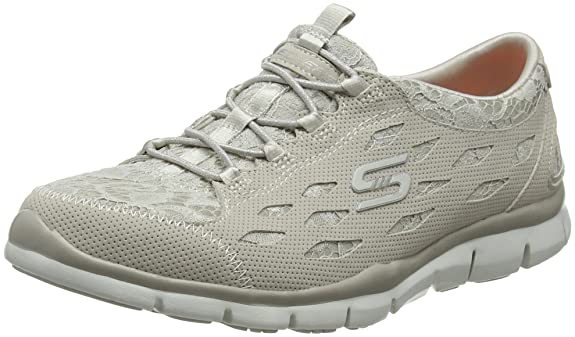 Amazon.com | Skechers Womens Gratis - Chic Craze Slip On Trainers | Fashion Sneakers