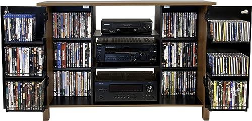 Multi Media A V Cabinet-Oak