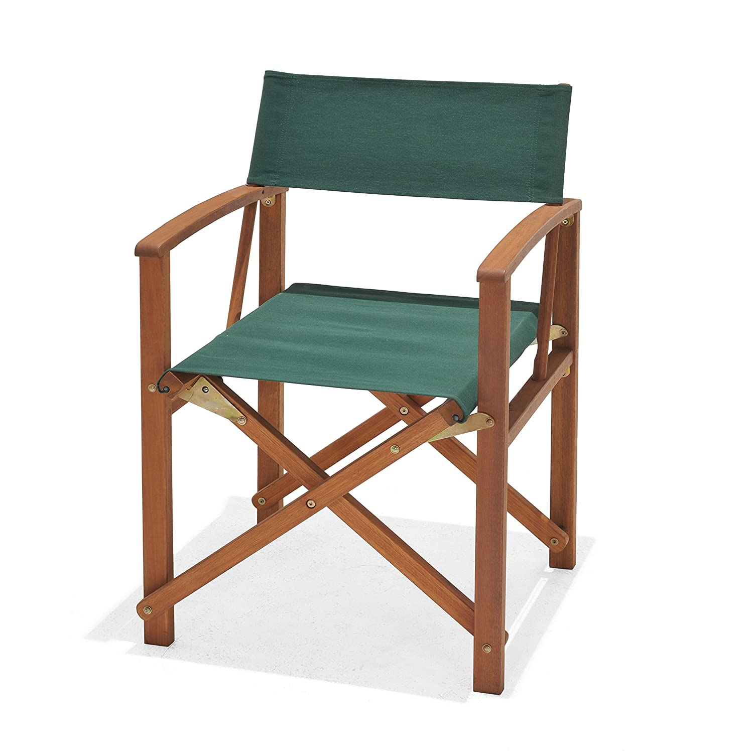Chichester Weather Tex Fabric And Fsc Eucalyptus Wood Outdoor Directors Chair