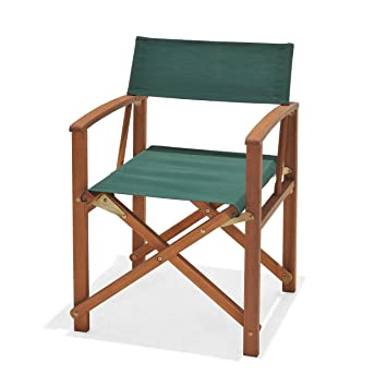 Charmant Chichester Weather Tex Fabric And FSC Eucalyptus Wood Outdoor Directors  Chair
