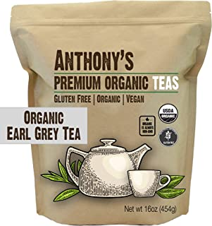 product image for Anthony's Organic Earl Grey Loose Leaf Tea 1 lb, Gluten Free, Non GMO & Non Irradiated