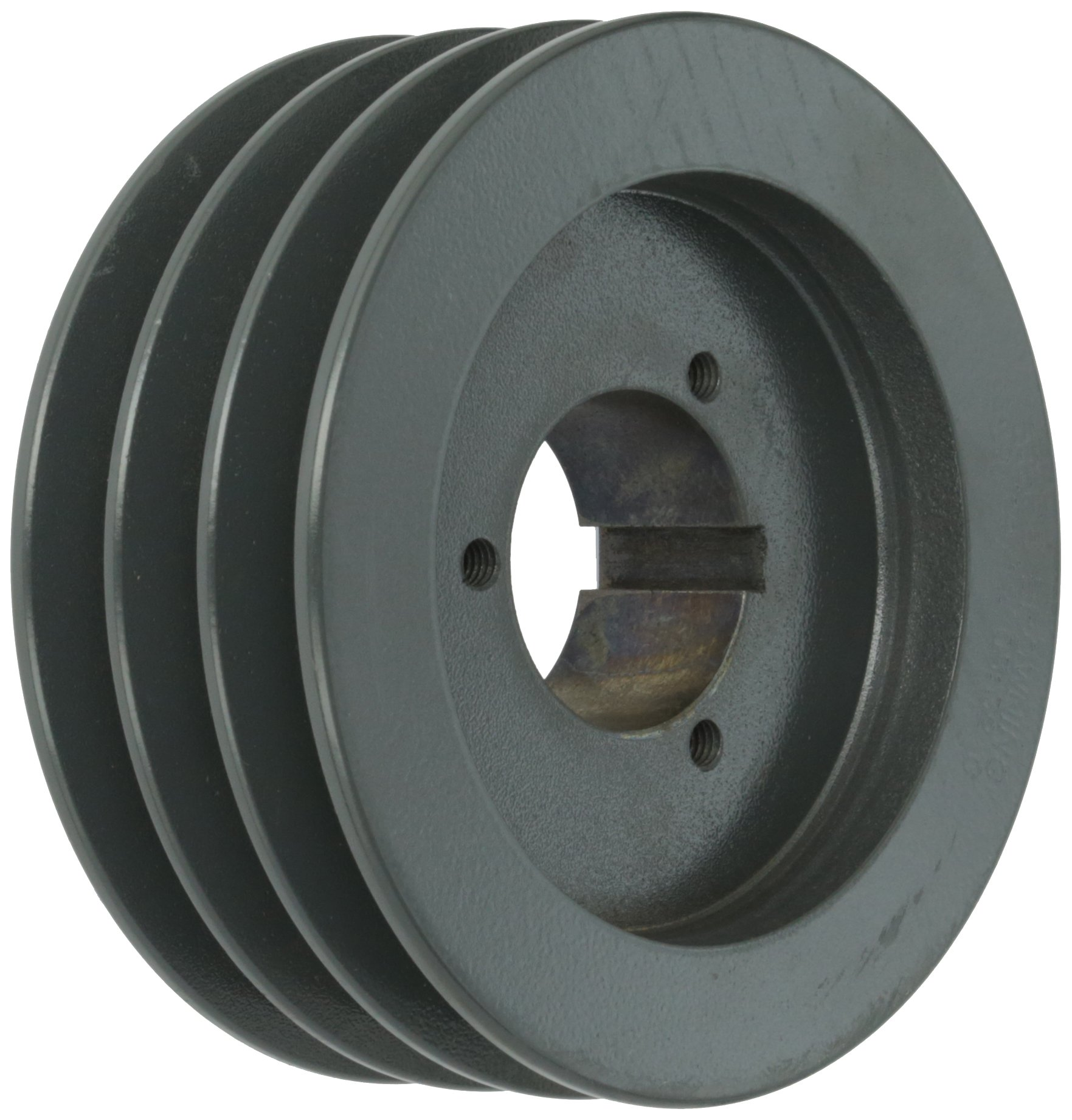 Browning 3TB58 Split Taper Sheave, Cast Iron, 3 Groove, A or B Belt, Uses P1 Bushing