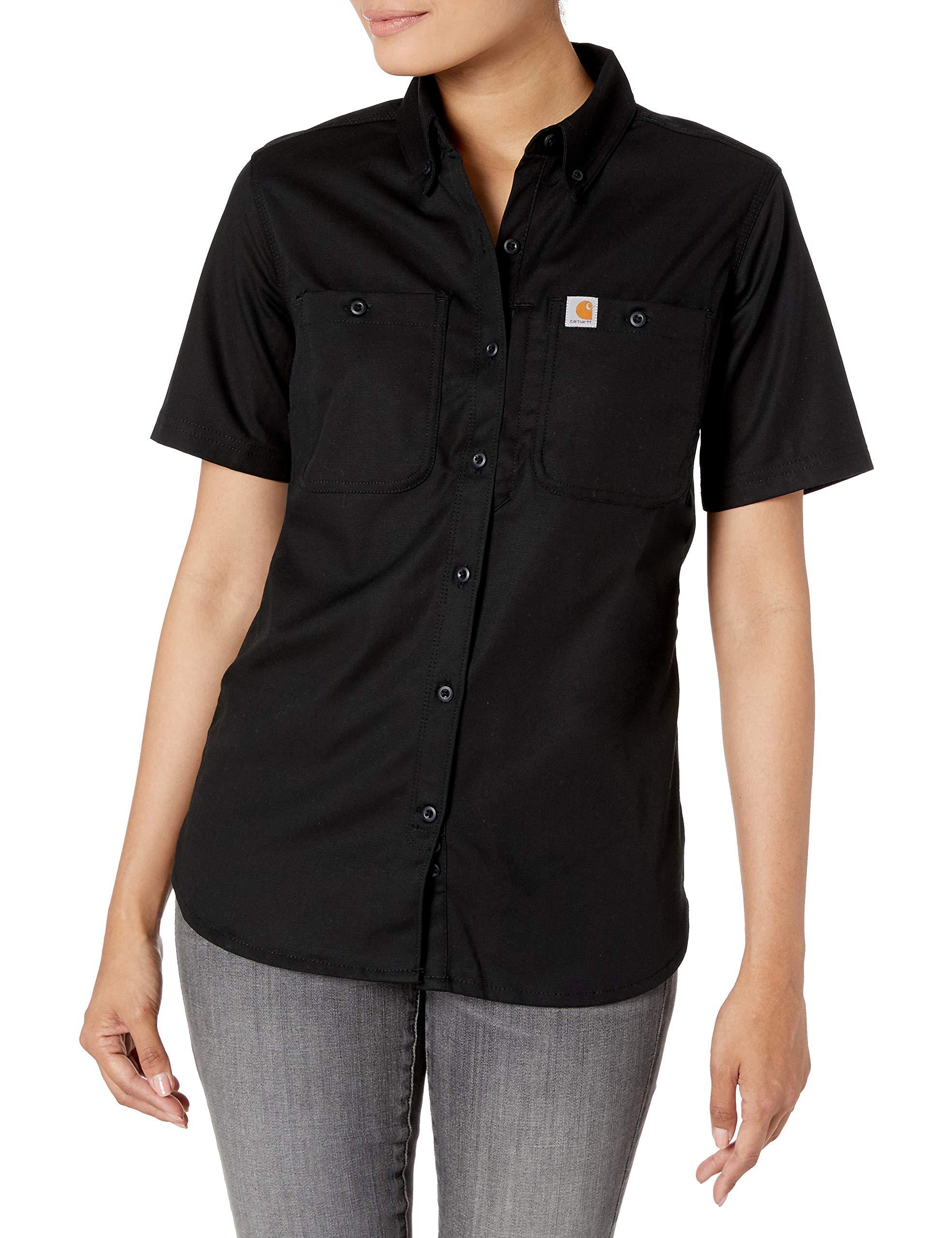 Carhartt Women's Regular Rugged Professional Short Sleeve Shirt