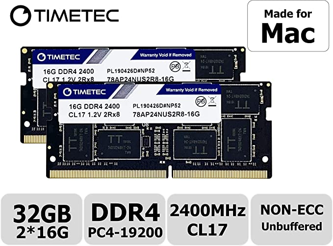 16GB 32GB 2Rx8 PC4-2400T DDR4-2400 MHz SODIMM 1.2V CL17 260 Pin Notebook Memory