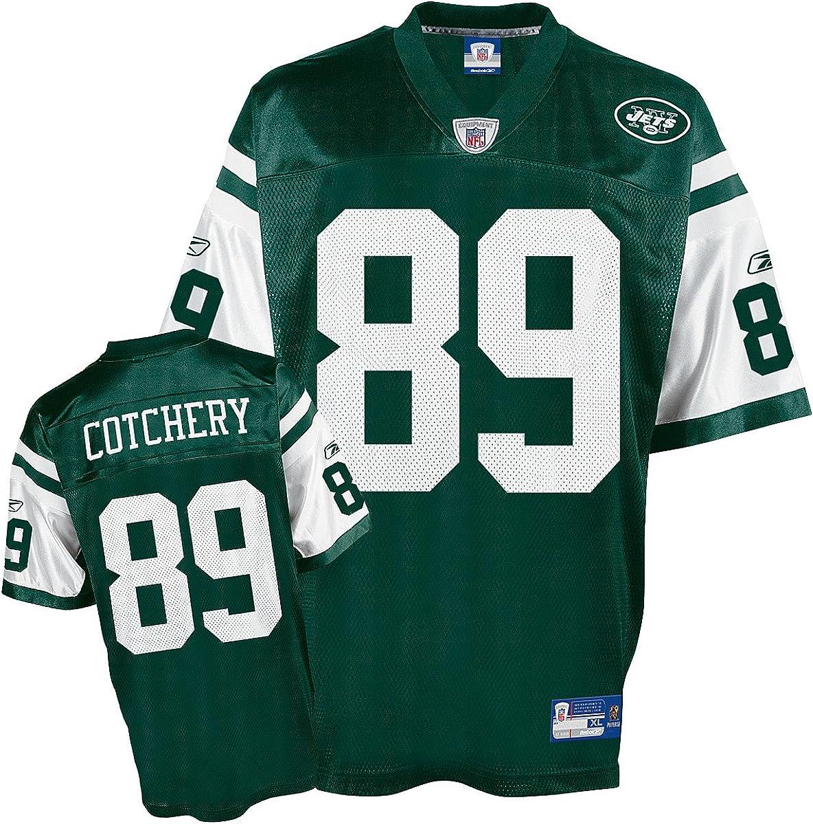 Amazon.com : Reebok New York Jets Jericho Cotchery Youth Replica ...
