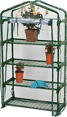 Garden Bloom 63516 Small Greenhouse, Green