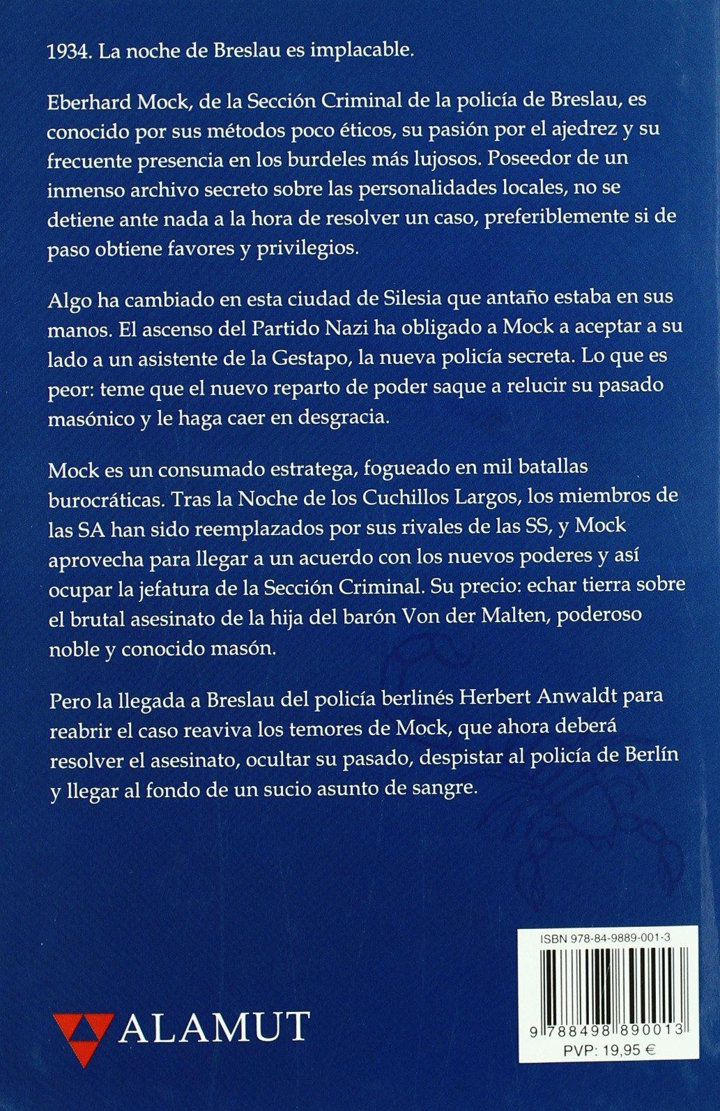 Muerte en breslau: Marek Krajewski: 9788498890013: Amazon ...