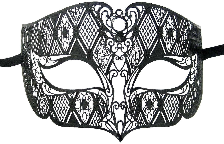 Luxury Mask Diamond Design Laser Cut Venetian Masquerade Amazonca Luggage Bags