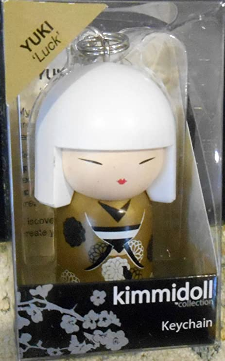 Enesco Kimmidoll japonés Kokeshi Muñeca colección llavero ...