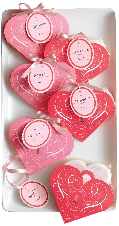 amazon com martha stewart crafts valentines day heart shape treat