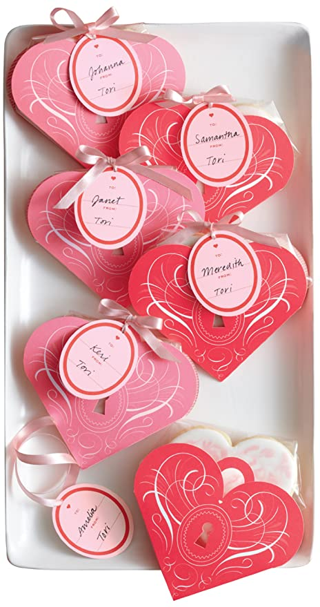 Amazon Com Martha Stewart Crafts Valentines Day Heart Shape Treat