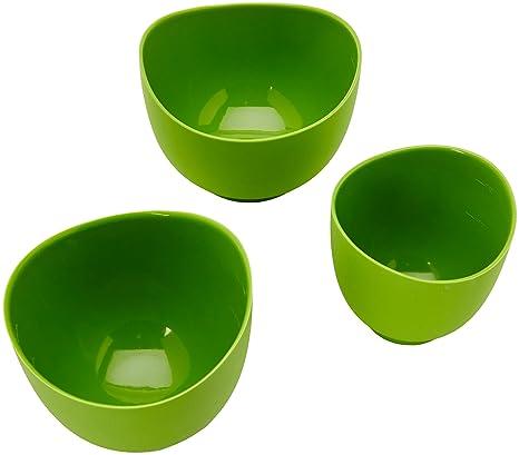 Amazon.com: iSi Basics Flexible Silicone Mixing Bowls, Set of 3, 1 ...