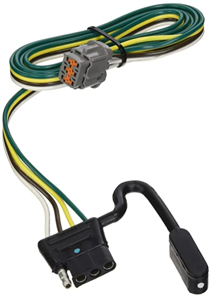 Amazon.com: Reese Tekonsha 118263 4-Flat Tow Harness Wiring Package on 4 flat connector, molded connector 6-way trailer harness, 3 flat wiring harness, toyota sequoia 2001 2007 towing harness, 4 flat wiring adapter, 4 flat engine, 4 flat mounting bracket, 4 point wiring harness, 7 flat wiring harness, 4 flat tires,