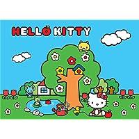 AG Design, Stampa fotografica decorativa da parete, motivo: Hello Kitty, Multicolore (Bunt)