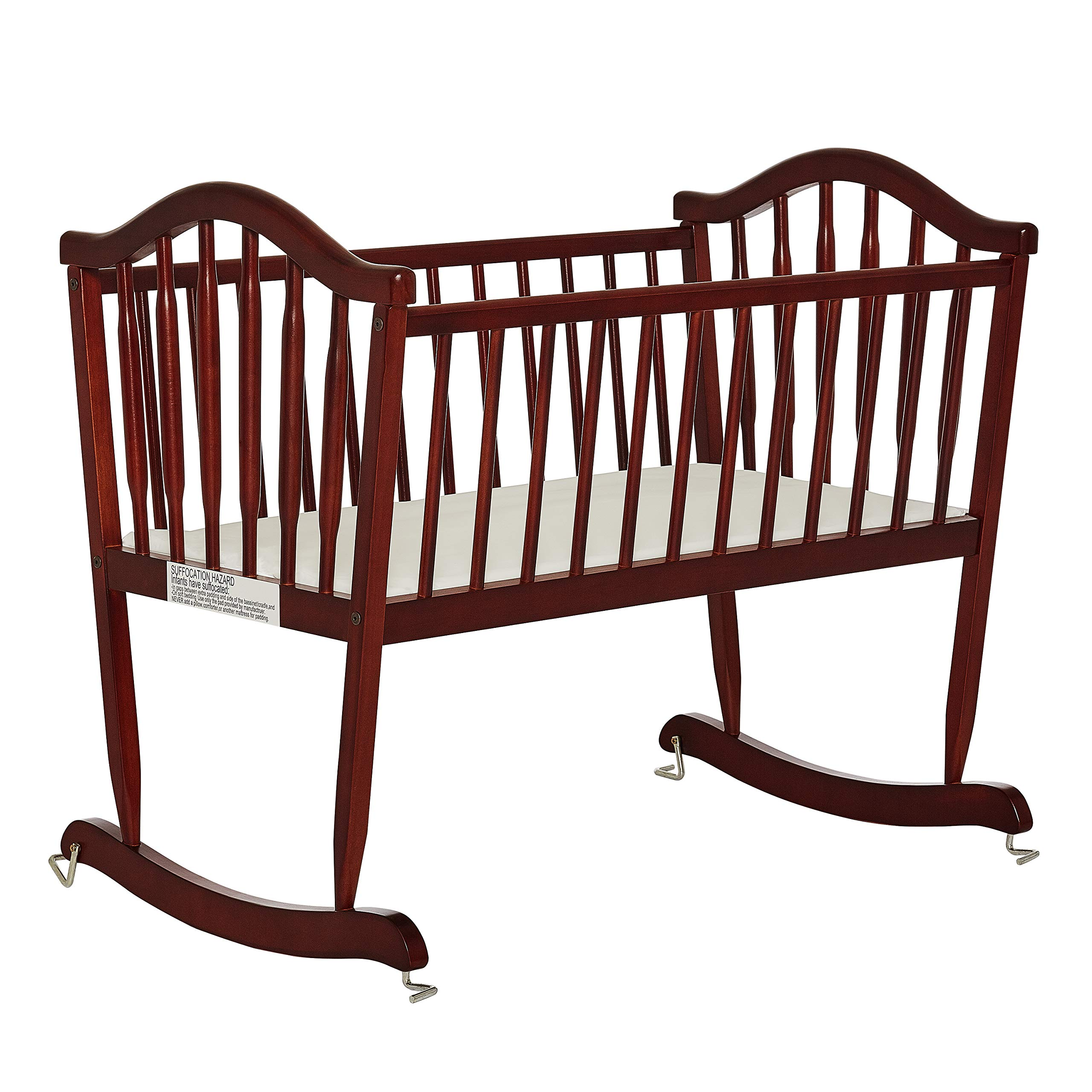 Dream on Me Rocking Cradle, Cherry by Dream On Me