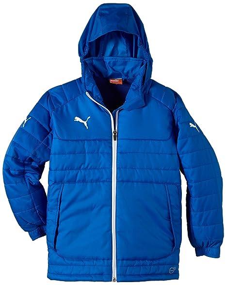 Puma Jacke Stadium Jacket - Chaqueta de pluma para niño, color azul, talla 8