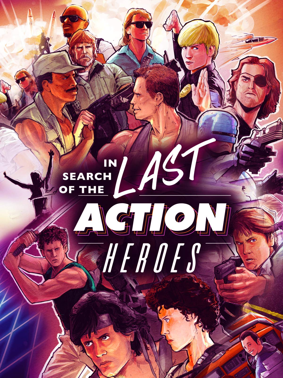 In Search of the Last Action Heroes on Amazon Prime Video UK