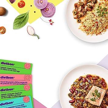 Dietbon – Pack de comidas de Top Ventes vegetarianos – Mincer con ...