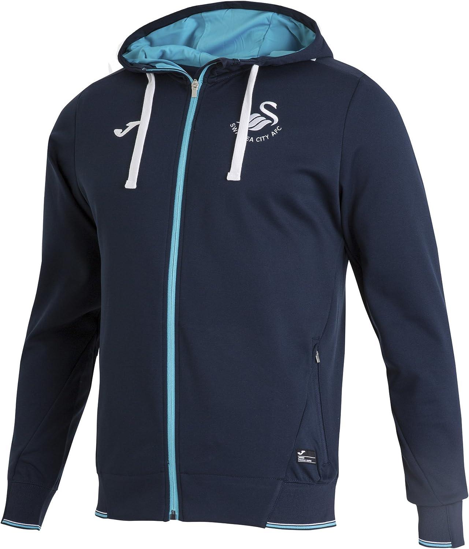 Joma - Jacket Hooded Travel Swansea, Color Navy, Talla S: Amazon ...