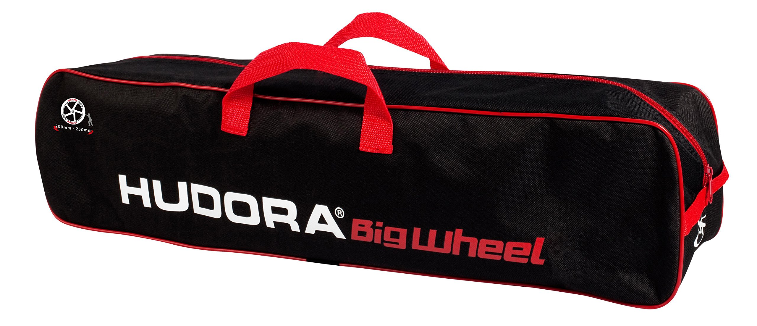 HUDORA ''200-250'' Scooter Bag, Black/Red