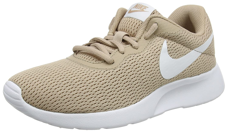 Nike Tanjun - Zapatillas para Mujer, Color Negro/Blanco 40.5 EU|Beige (Sand/White 201)
