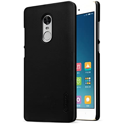 sale retailer 58775 ad5c0 Nillkin Frosted Shield Slim Fit Back Case Cover for Xiaomi Redmi Note 4  (with Nillkin Screen protector) BLACK