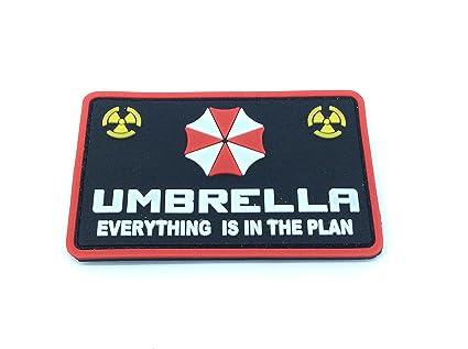 Paraguas todo está en el Plan Resident Evil PVC Airsoft Velcro Patch