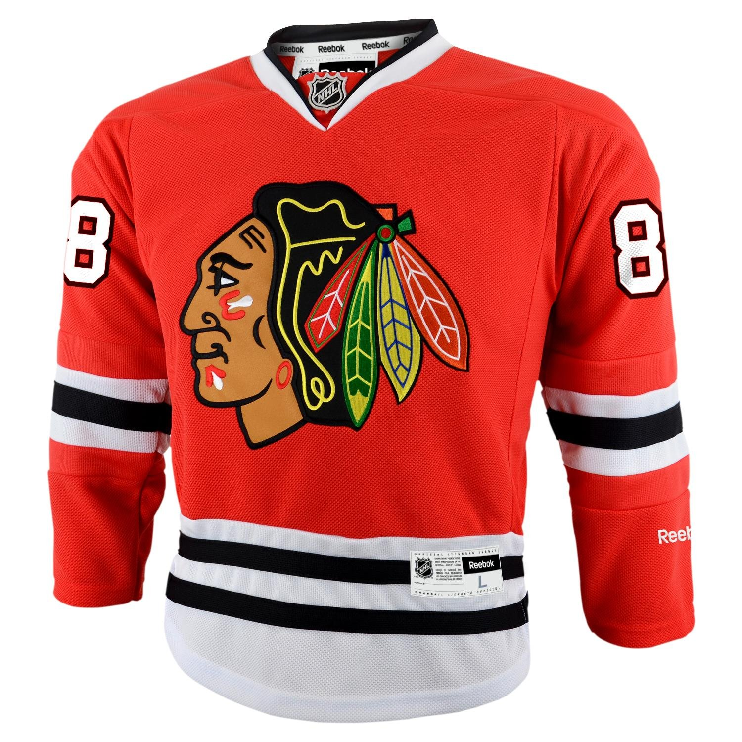 Patrick Kane Chicago Blackhawks Reebok NHL Youth Premier Jersey - Red