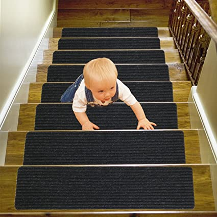 14 Pack (8u0026quot;x30u0026quot;),Stair Treads Carpet Indoor, Anti