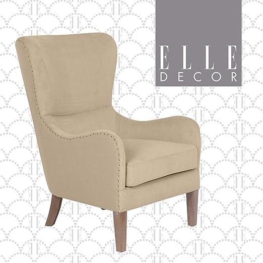 Modern Formal Living Room, Amazon Com Elle Decor Modern Farmhouse Accent Chair Tan Tan Furniture Decor
