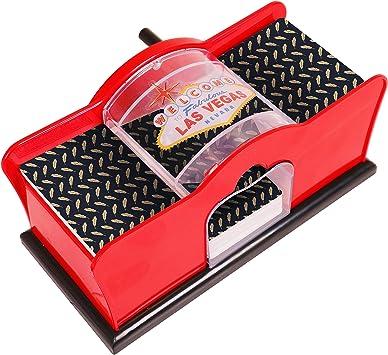 Kangaroo Card Shuffler (2-Deck) for Blackjack, Poker & More
